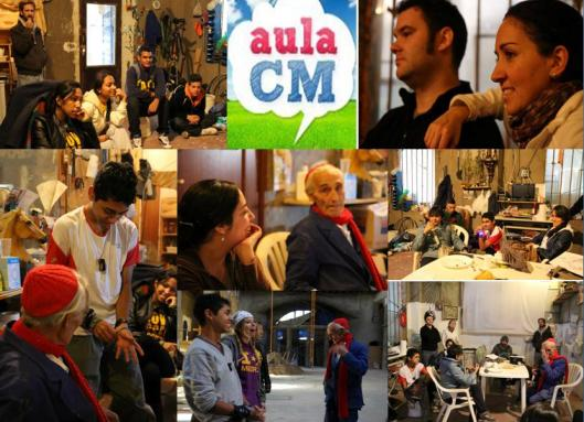 AulaCM conversando con Justo Gallego