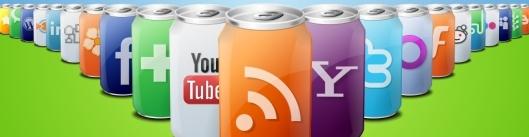 Logos Redes Sociales latas